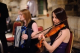 Marie and Nicky playing at the Hospitium